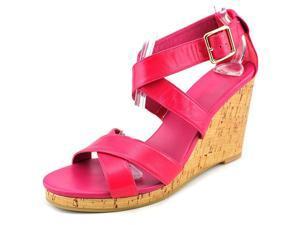 Cole Haan Jillian Women US 7.5 Pink Wedge Sandal