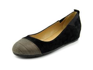 Vaneli Ardelia Women US 7 N/S Black Wedge Heel
