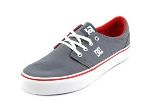 DC Shoes Trase TX Women US 5 Gray Sneakers