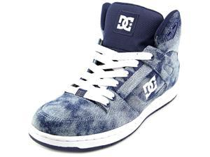 DC Shoes Rebound Hi SE Women US 6.5 Blue Skate Shoe