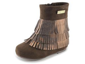 Kenneth Cole Reaction Fringe Fun Youth US 11 Brown Boot UK 10.5 EU 28