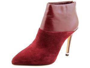 Michael Michael Kors Freya Bootie Women US 6.5 Burgundy Bootie