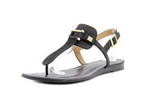 Franco Sarto Gram Women US 9 Black Thong Sandal