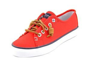 Sperry Top Sider Seacoast Women US 5.5 Red Sneakers