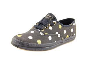 Keds CH TS Glitter Dot Women US 9.5 Black Sneakers
