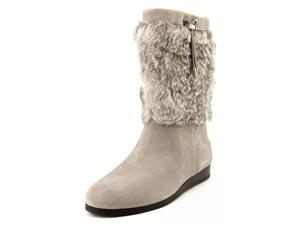 Michael Michael Kors Lizzie Mid Boot Women US 6 Gray Boot