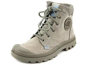 Palladium Pampa Cuff Wp Lux Women US 6 Gray Boot UK 4 EU 37