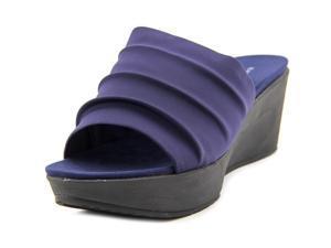 Bandolino  Dallin Women US 6 Blue Wedge Sandal