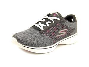 Skechers Go Walk 4 Exceed Women US 9 Black Walking Shoe