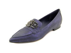 Donald J Pliner Aldena Women US 10 Blue Loafer