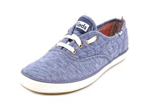 Keds Champion Quilt Jersey Women US 6 Blue Sneakers UK 3.5 EU 36