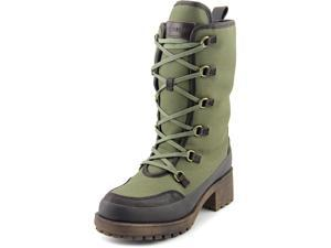 Lucky Brand Alascan Women US 8 Green Mid Calf Boot