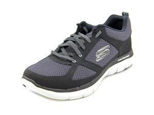 Skechers Flex Advantage 2.0 Men US 8 Black Running Shoe UK 7 EU 41