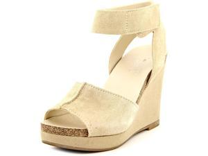 Franco Sarto Fairfax Women US 6.5 Tan Wedge Sandal