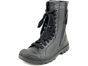 Palladium Pampa Hi Rise L Zip Women US 5.5 Black Boot