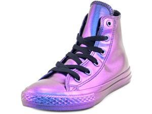 Converse Ctas Rubber Hi Youth US 13 Purple Sneakers