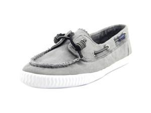 Sperry Top Sider Sayel Away Women US 9 Gray Boat Shoe