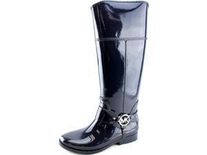 Michael Michael Kors Fulton Harness Tall Rainboot Women US 6 Blue