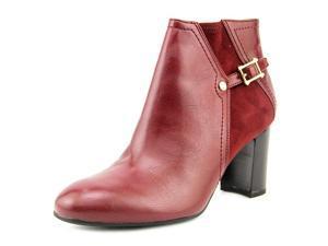 Franco Sarto Deora Women US 7.5 Burgundy Ankle Boot