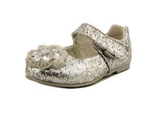 Pediped Delaney Toddler US 7.5 Silver Mary Janes