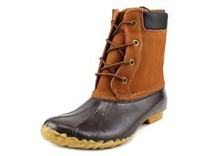 Western Chief Four Eye Duck (Version 2) Women US 11 Brown Rain Boot