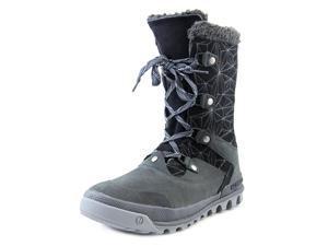 Merrell Silversun Lace Women US 8.5 Black Winter Boot