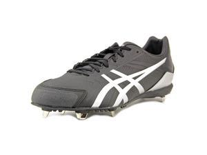 Asics 2016 Men's Base Burner Baseball Cleats - K600Y.9390 (Silver/Black - 9.5)