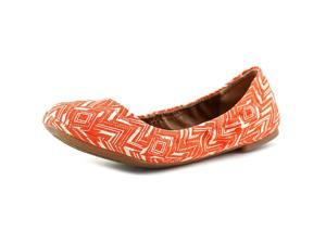 Lucky Brand Emmie  Women US 6.5 Orange Ballet Flats