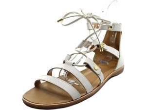 Franco Sarto Baxter Women US 9.5 White Gladiator Sandal UK 7.5 EU 39.5