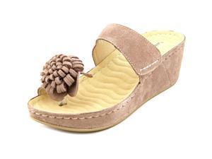 David Tate Jolly Women US 9.5 N/S Tan Platform Sandal