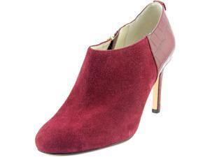 Michael Michael Kors Sammy Ankle Boot Women US 7 Burgundy Bootie