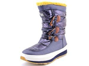 Keds Powder Puff Women US 7 Blue Winter Boot