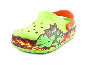Crocs Fire Dragon Youth US 11 Green Clogs