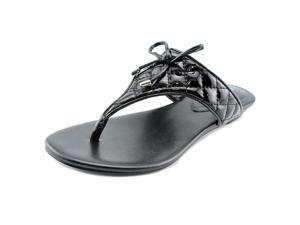 BCBGeneration Alice Women US 6 Black Thong Sandal