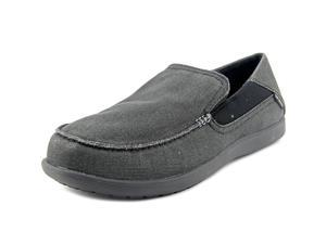 Crocs Santa Cruz Men US 7 Black Loafer