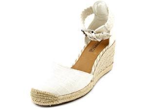 Sperry Top Sider Valencia Women US 9 White Wedge Heel UK 6.5 EU 40
