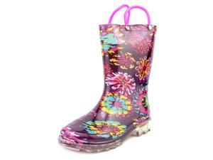 Western Chief Light-Up Rain boot Youth US 13 Purple Rain Boot
