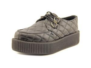 T.U.K. Creeper Men US 8 Black Platform Heel