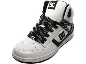 DC Shoes rebound high se Women US 10 White Sneakers