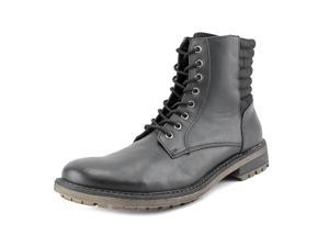 Unlisted Kenneth Cole Brass Beat Men US 12 Black Combat Boot