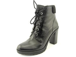 Michael Michael Kors Kim Lace Up Bootie Women US 5.5 Black Ankle Boot