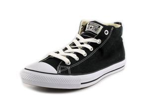 Converse Chuck Taylor Street Mid Men US 10.5 Black Sneakers