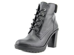 Michael Michael Kors Kim Lace Up Bootie Women US 5 Black Ankle Boot