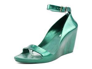 Melissa Summer Women US 10 Green Wedge Sandal
