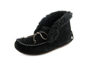Ugg Australia Alena Women US 12 Black Moc Slipper