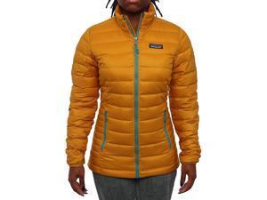 Patagonia Women Women's Down Sweater  Puffer Golden Amber Size L