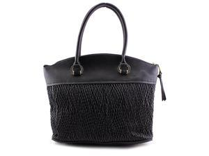 London Fog LF6308 Women Black Satchel