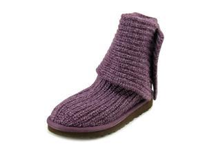 Ugg Australia Cardy Youth US 3 Purple Winter Boot