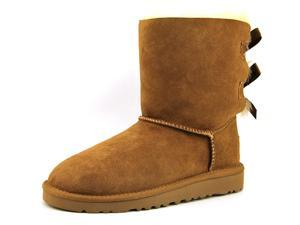 Ugg Australia Bailey Bow Youth US 10 Brown Winter Boot UK 9 EU 27