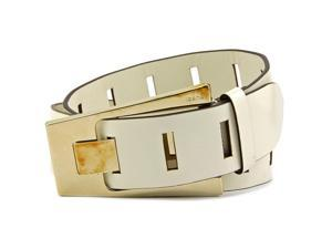Gucci 196832 Women White US 36 Belt